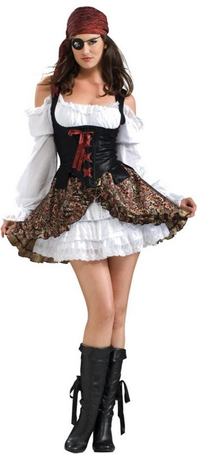 View Item Buccaneer Babe Pirate Costume
