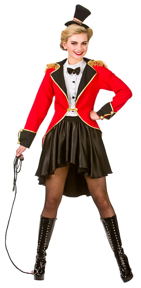 Ringmaster adult fancy dress mens ladies womens costume outfit ebay