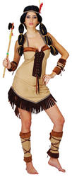 View Item Red Indian Princess Costume