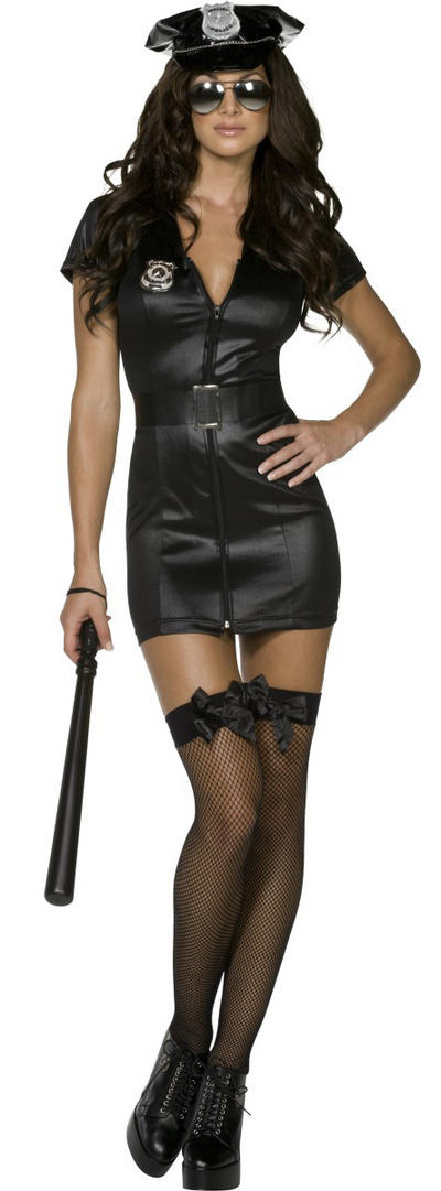 Ladies Fever Sexy Cop Costume