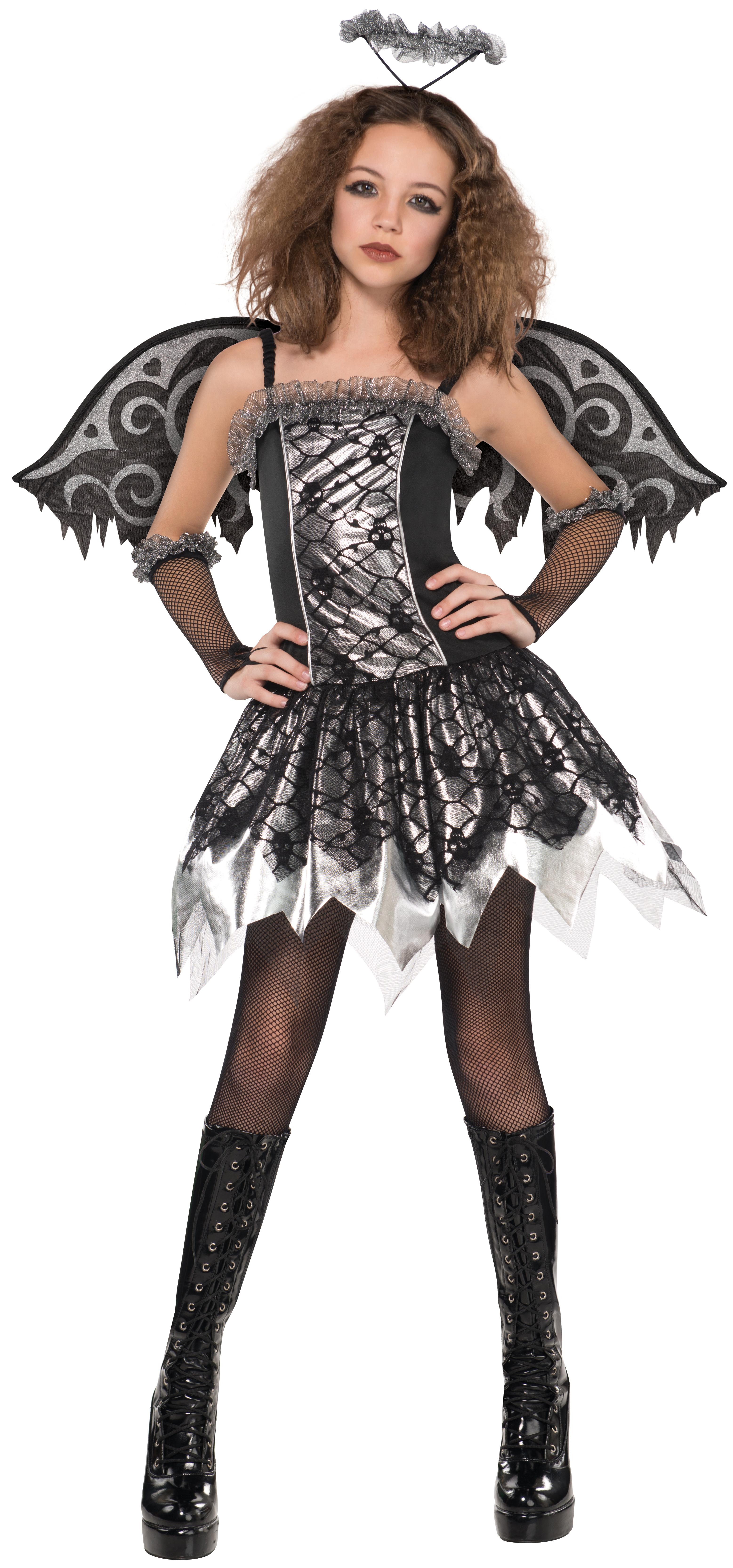 Girls Age 8-16 Fancy Dress Halloween Party Kids Childs Teen ...