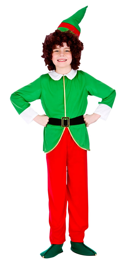 Funny christmas elf costume kids costumes