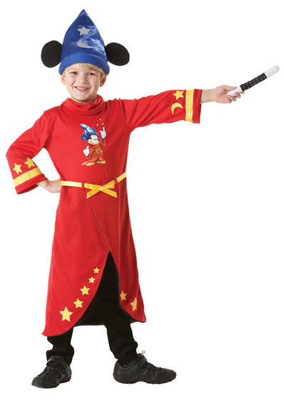 View Item Kid's Disney Mickey Mouse Fantasia Fancy Dress Costume