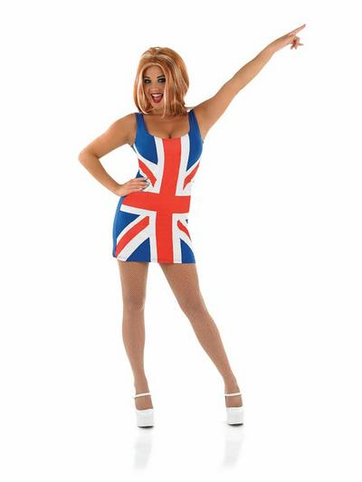 Union Jack Dress Costume