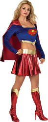 View Item Deluxe Sexy Supergirl Costume