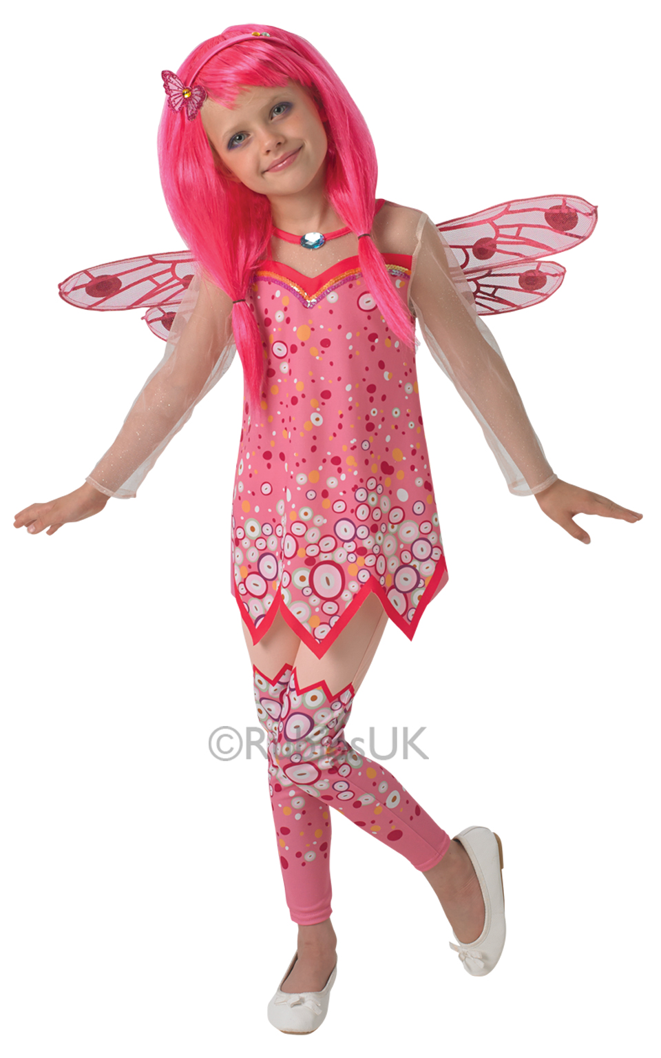 deluxe mia me girls fancy dress mystical fairy tv show kids childrens costume ebay. Black Bedroom Furniture Sets. Home Design Ideas