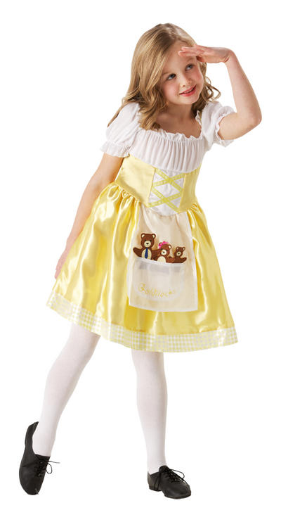 Girl's Goldilocks Costume