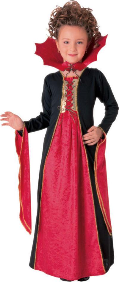 Girls' Gothic Vampiress Costume
