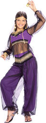 View Item Girl's Harem Princess Fancy Dress Costume