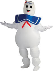 Ghostbusters Stay Puft Marshmallow Man Costume