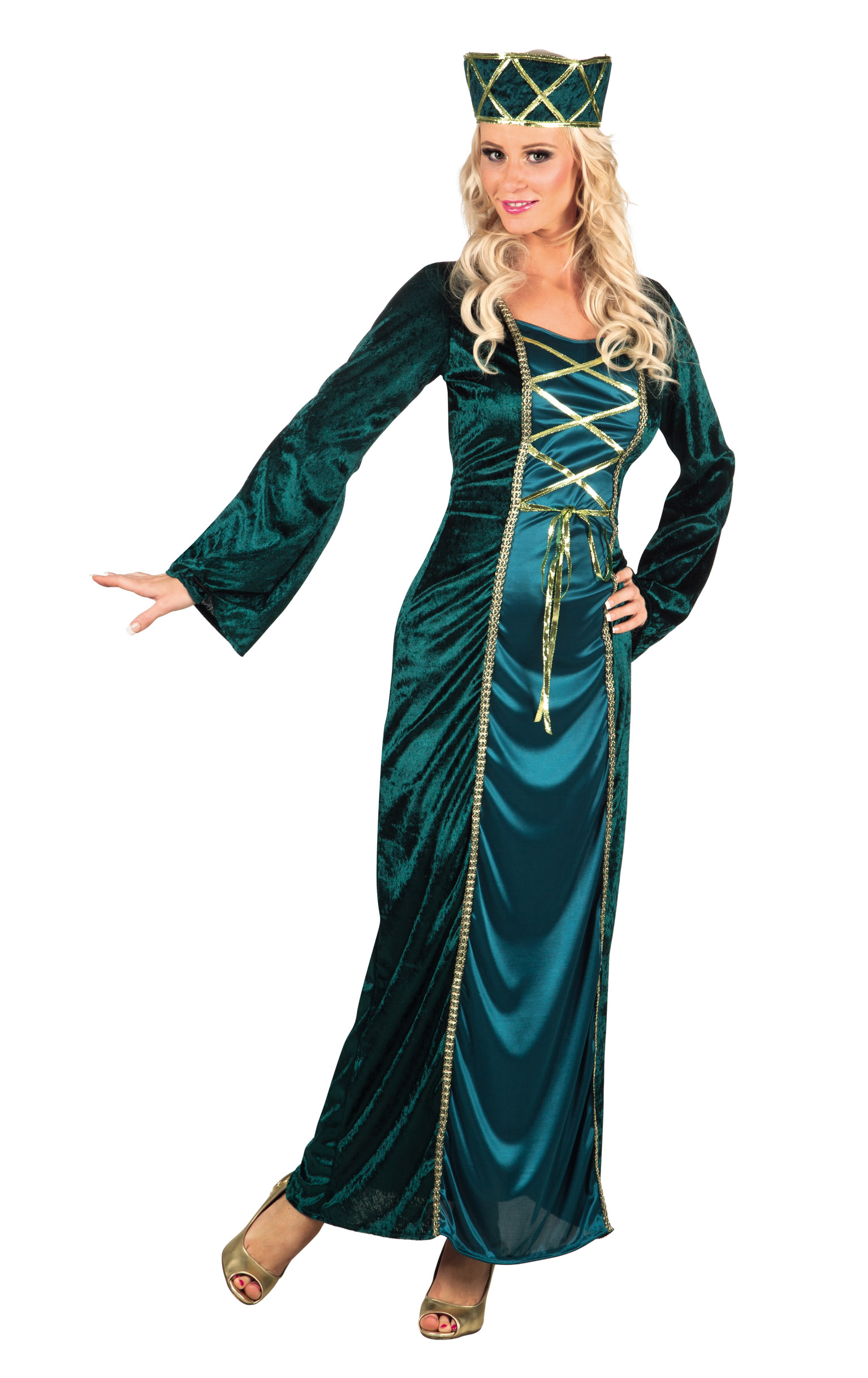 medieval queen ladies fancy dress renaissance royal tudor