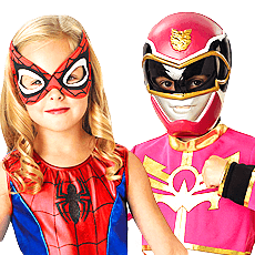 Girls Super Hero Costumes