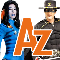 Letter A-Z Costumes