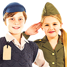 40s & WW2 Costumes