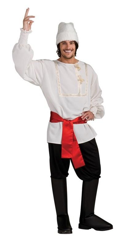 White russian spy national dress fancy dress james bond mens costume hat ebay - James bond costume ...