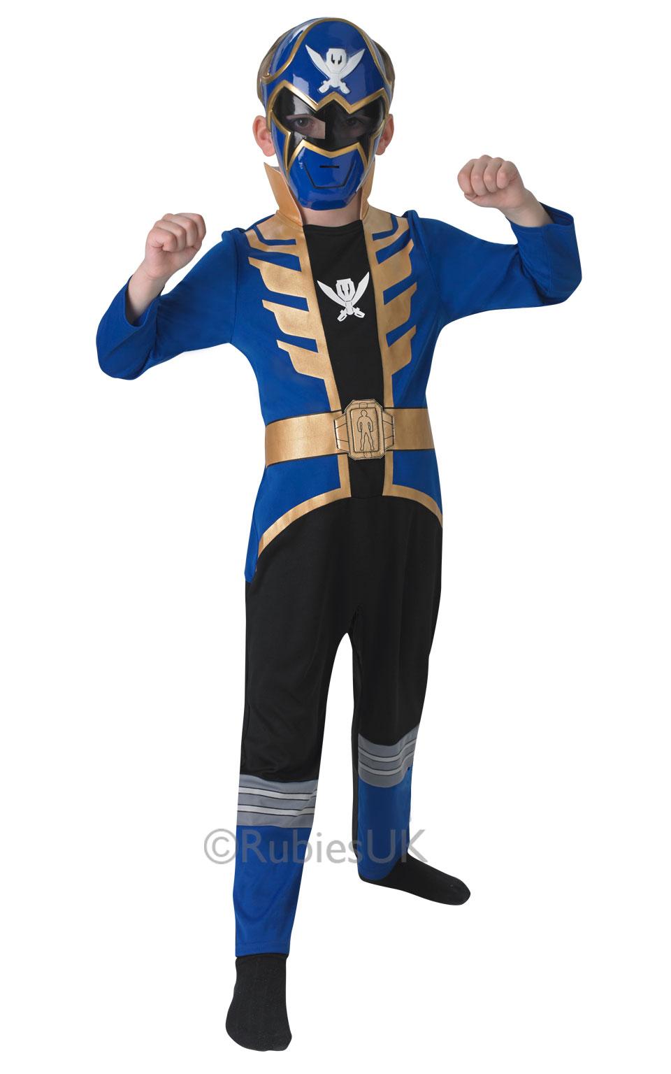 Super Mega Force + Mask Kids Fancy Dress Power Rangers Boys Girls ...