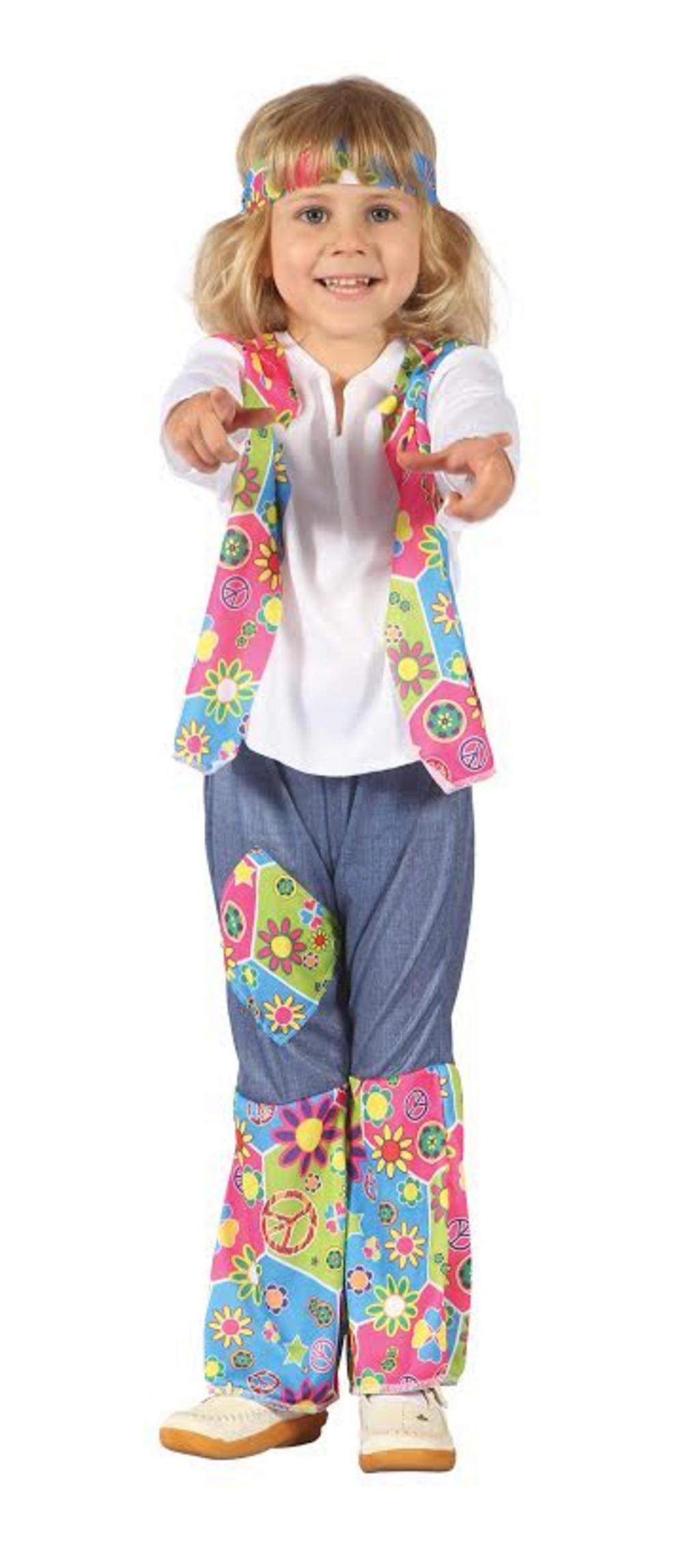Hippy Girl Toddler Costume