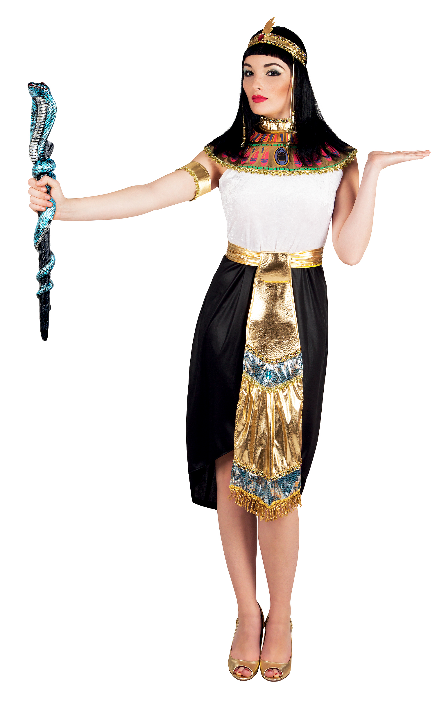 Brilliant Egyptian Goddess Costume Sexy Cleopatra Fancy Dress Queen Of The Nile
