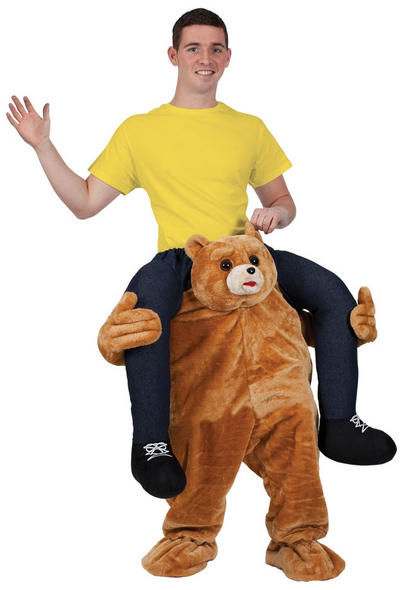 Carry Me Teddy Costume