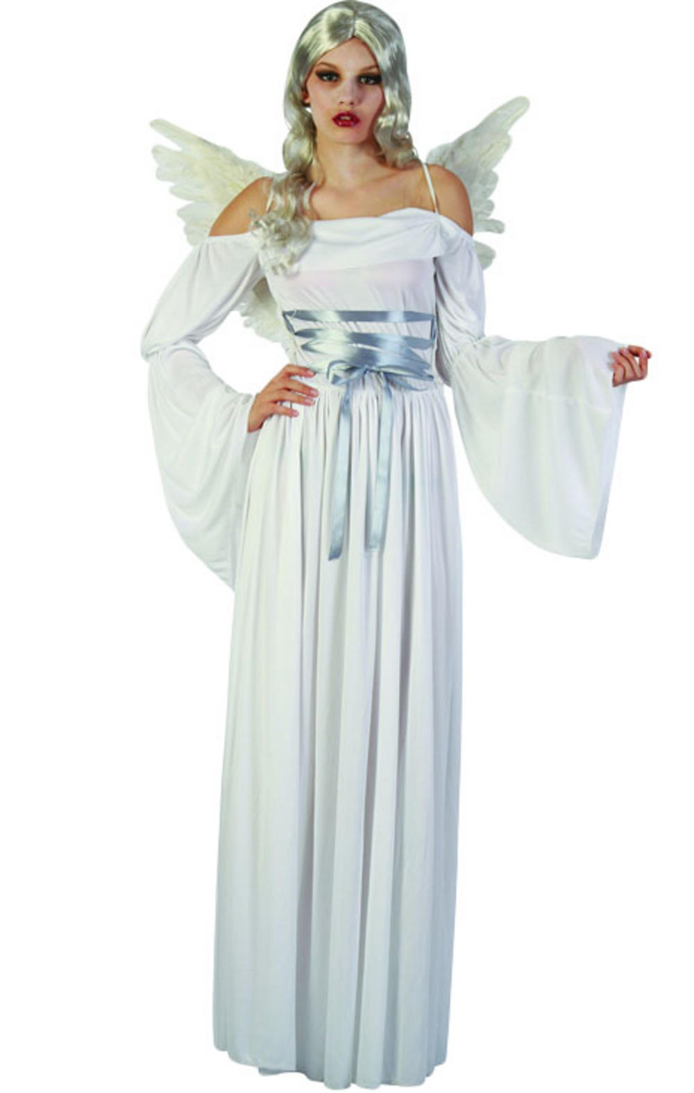 White Angel Costume | All Ladies Halloween Costumes | Mega ...
