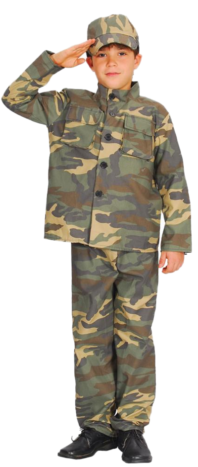 Boys' Action Commando Costume