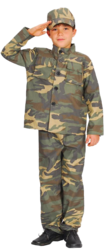 View Item Boys' Action Commando Costume