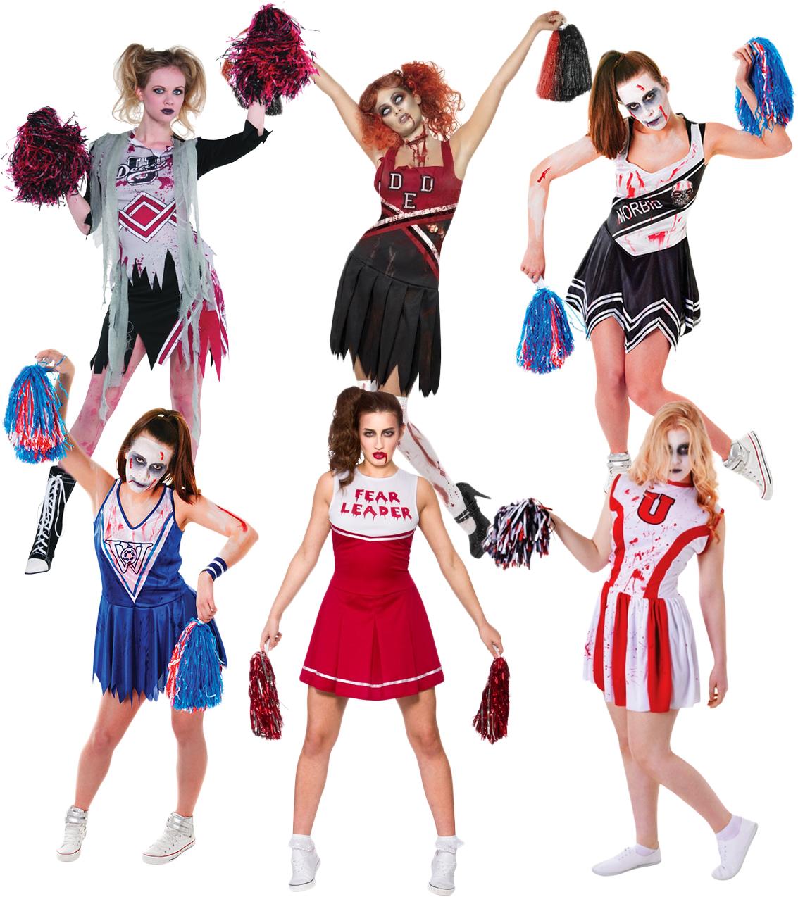 Zombie cheerleader makeup