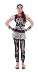 View Item Sassy Skeleton Costume