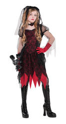 View Item Deadly Wed Girls Costume