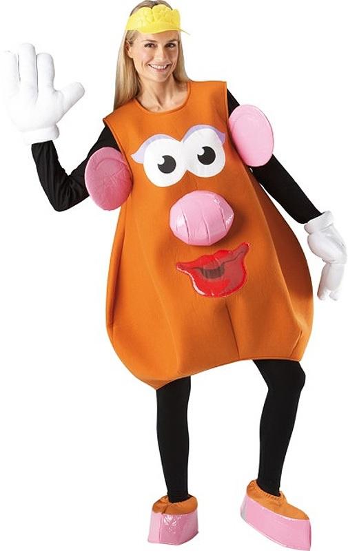 Mrs Potato Head Ladies Fancy Dress Disney Toy Story Film Womens ...