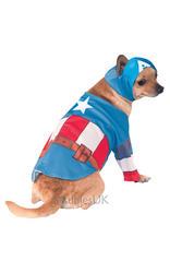 View Item Captain America Pet Dog Costume