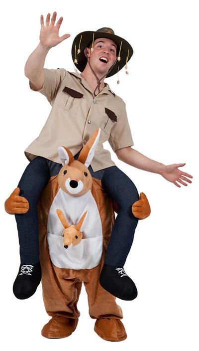 Carry Me Kangaroo Costume