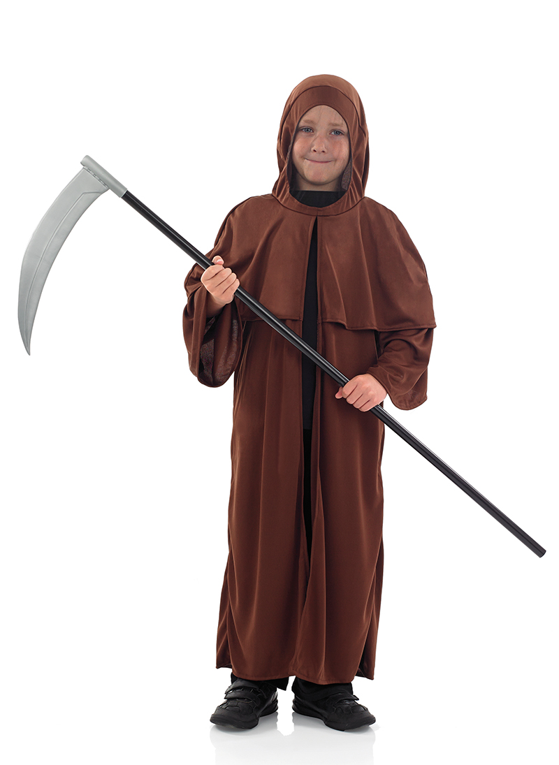medieval monk boys fancy dress halloween saints sinners kids childs costume ebay. Black Bedroom Furniture Sets. Home Design Ideas