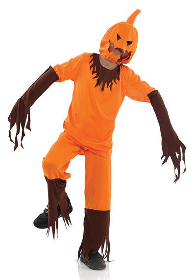 Scary Pumpkin Kids Costume