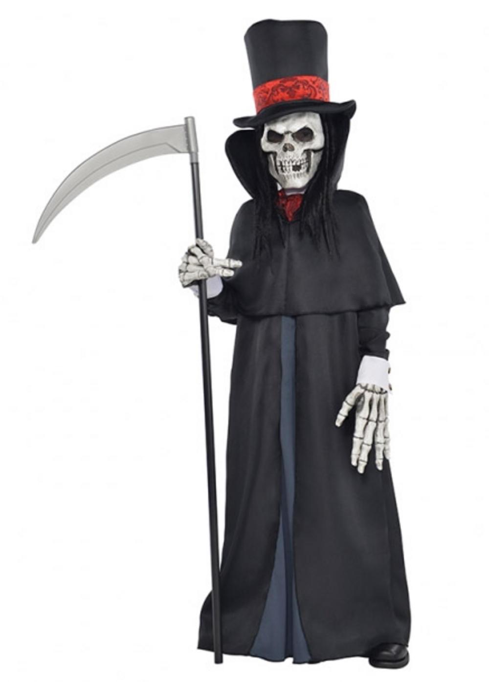 Grim Reaper Makeup