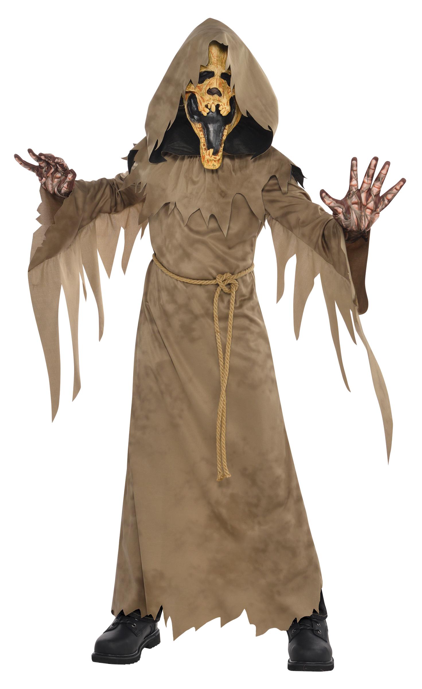 Swamp Creeper Ghoul Boys Fancy Dress Halloween Spooky Ghost Kids ...