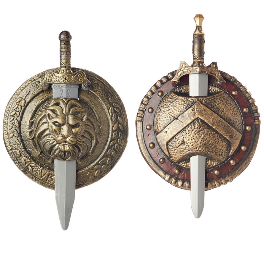 Greek Shield And Sword