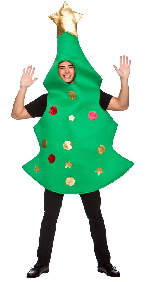 Christmas tree adults costume mens costumes