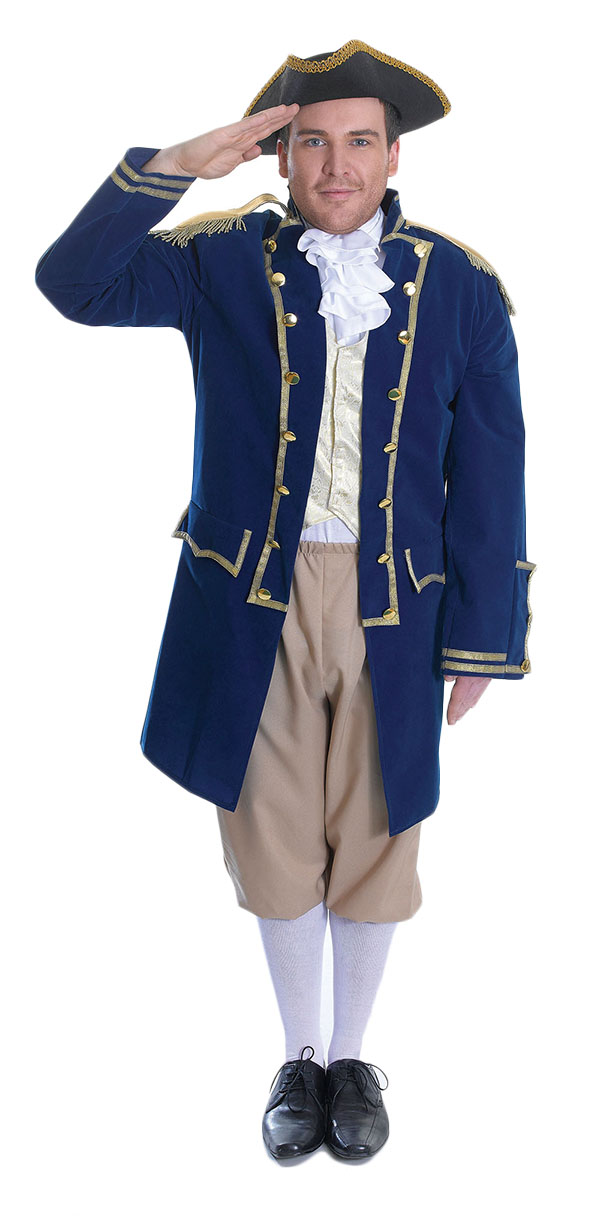 Admiral Of The Fleet Mens Costume Letter Quot A Quot Costumes