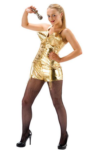 Queen of Pop Ladies Costume