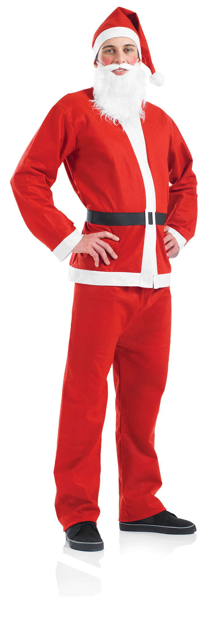 Santa claus suit costume mens christmas costumes mega