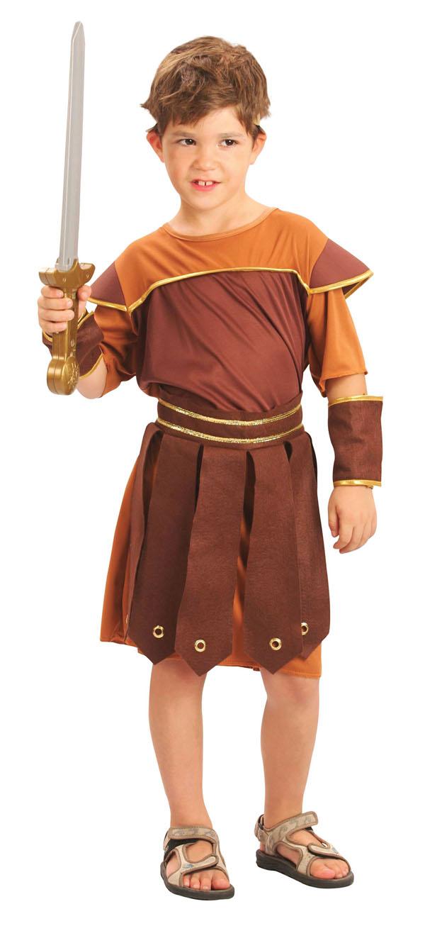 Roman Soldier Boys Fancy Dress Ancient Greek Grecian ...