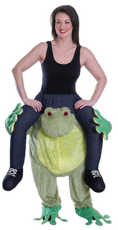 Piggy Back Frog Costume