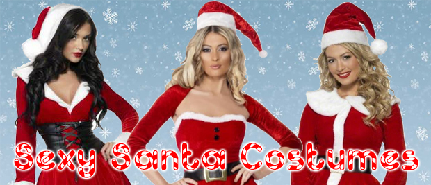 Sexy Santa Fancy Dress Costumes