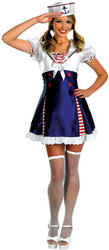 View Item Ahoy Matey Sailor Girl Costume