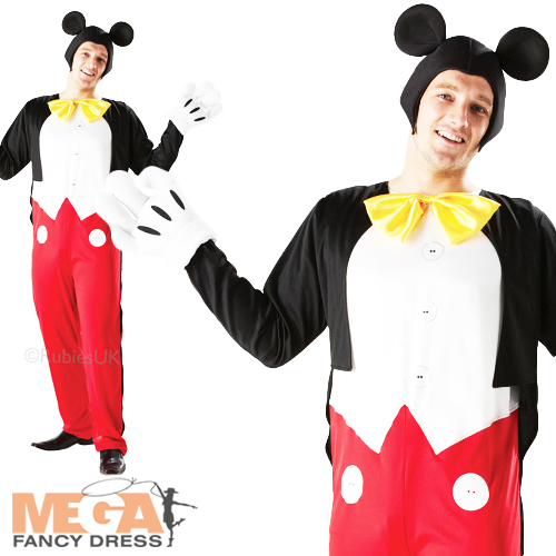 deluxe mickey mouse d guisement homme officiel disney adulte costume outfit oreilles ebay. Black Bedroom Furniture Sets. Home Design Ideas