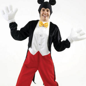 View Item Men's Disney Mickey Mouse Fancy Dress Costume