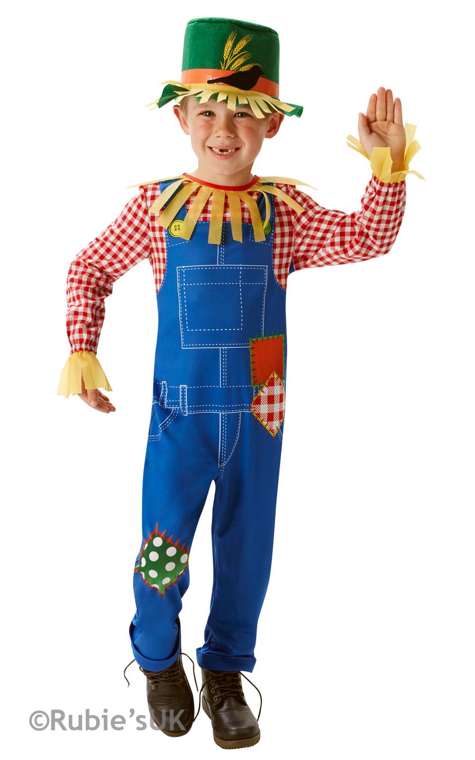 Mr or Mrs Scarecrow Kids Fancy Dress Wizard Oz Book Day Week ...
