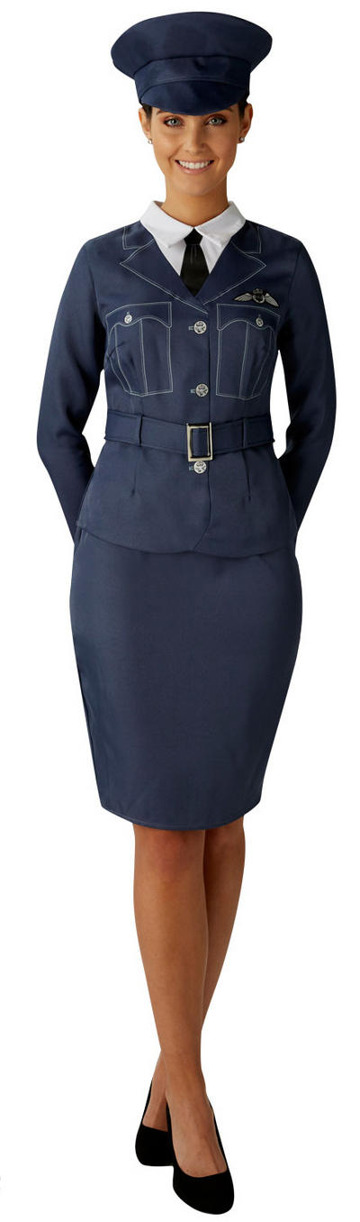 WRAF Girl Ladies Costume