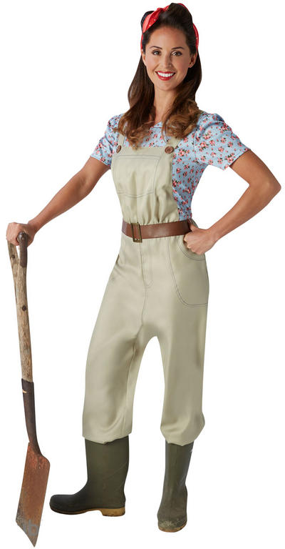 Land Girl Ladies Costume